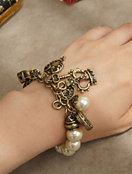 Fashion Jewelry Retro Pearl Multielement Bracelet