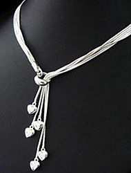 New Arrival Fashion Jewelry Multilayer Heart Necklace