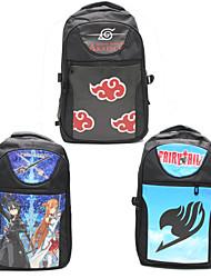 Bolsa Inspirado por Sword Art Online Fantasias Anime Acessórios de Cosplay Bolsa / mochila Preto / Vermelho / Azul Náilon Masculino