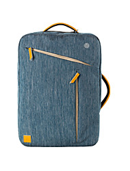 "15.6""Unisex Nylonin Laptop Tote / Backpack / Laptop Bag - Blue / Gray"