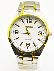 Men's fashion steel band watch