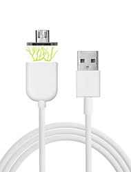 Cwxuan®  Micro USB Metal Magnetic Adhesion Data Sync Charging Cable for Samsung/HTC and Other Android Smart Phones