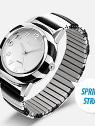 SKMEI® Women's Spring Strap Colorful Steel Quartz Watch Cool Watches Unique Watches Fashion Watch