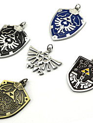 Jewelry Inspired by The Legend of Zelda Cosplay Anime/ Video Games Cosplay Accessories Necklace Black / Blue / Purple / Golden / Silver
