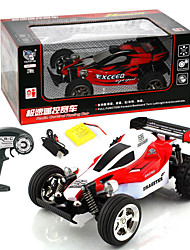 RC Car - Huanqi - 1:24 - RC Car - Brush Eléctrico - Buggy (de campo traversa)