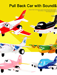 The Airport Diary Toy Cartoon Pull Back Car with Sound and Light for Kids Toys inc. battery (with Multi-touch Function)