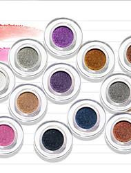 New NOVO® Eyeshadow Dry Eyeshadow Palette Powder Normal 1Pc