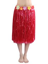 Kostüme Burleske Kostüme Karneval Rot / Purpur / Weiß / Rosa / Orange Patchwork PVC Kleid