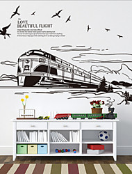 European-style Train Wall Stickers