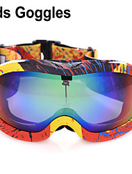 Children Polarized Special Snowboard Goggle Ski Goggles 8-15 Years Old Kid Polarization Skiing Glasses Girl Boy M0051