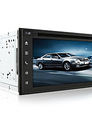 DVD Player Automotivo - 2 Din - 800 x 480 - 6,5 Polegadas