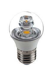 5W E26/E27 Luzes de LED em Vela G45 1 COB 420 lm Branco Quente Decorativa AC 100-240 V 1 pç
