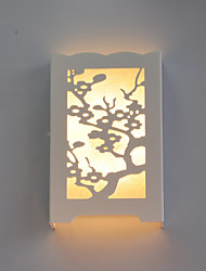 LED Flush Mount appliques murales,Moderne/Contemporain PVC