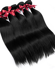 Peruvian Virgin Hair Soft Silky Straight Extensions Top Grade 2Pcs/lot Unprocessed Peruvian Remy Human Straight Hair