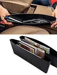 ziqiao tasca portaoggetti fermo collettore scatola organizzatore caddie seggiolino auto fessura (2 pezzi)