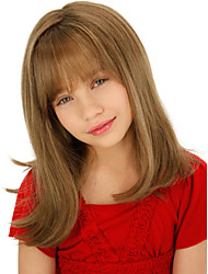 Lovely Children Straight Hair Long Synthetic Wigs