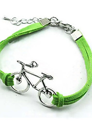 Korean Lovely Bicycle Woven Handmade Diy Bracelet Christmas Gifts