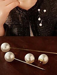 New Arrival Fashion Jewelry Sweet Simple Pearl Brooch