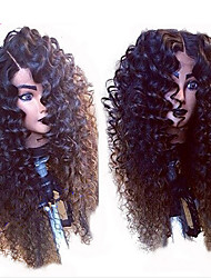 Hotsale! Virgin Human Hair Deep Curly Full Lace Wig Glueless Brazilian Full Lace Wigs With Natural Color