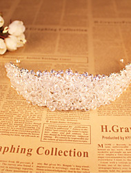Mujer Diamantes Sintéticos / Cristal Celada-Boda / Ocasión especial Tiaras 1 Pieza
