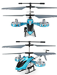 8808 Metal 4CH RC Helicopter Radio Control With GYRO LED Light Remote Control Helicpter