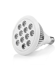 E27 36W 12-LED Hydroponic Plant Growing Spot Light for Garden Greenhouse (AC 85 - 265V)