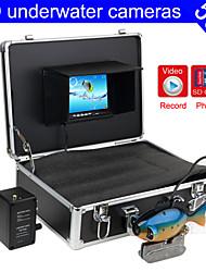 """trouveur de poissons caméra sous-marine 50m caméra sous-marine poissons de pêche finder 7 """"TFT LCD fonction écran couleur DVR"""
