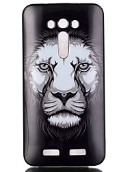 lion Pattern TPU Phone Case for Zenfone 2 Laser ze550KL