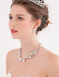 Anniversary / Wedding / Engagement / Birthday / Gift / Party / Special Occasion Necklace with Imitation Pearl