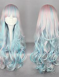 Sweet Lolita 65CM Long / Extra Long Blue Lolita Wig