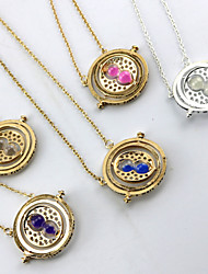 Harry Potter Time Converter Golden Alloy Cosplay Necklace(1pcs)