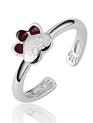 Pure Women's 925 Silver-Plated High Quality Handwork Elegant Ring Promis rings for couples