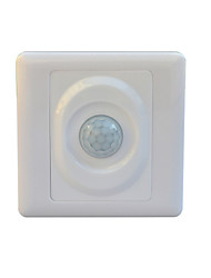 Jiawen TRIS-07 Optically-Controlled  LED Human Body Inductive Motion Sensor Wall Switch