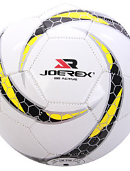 Joerex ® Training Match Machine Sewn PVC Soccer Durable Football Nondeformable Gas Leak-proof AJAB10144