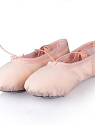 Non Customizable Kids' Dance Shoes Canvas Canvas Ballet Flats Flat Heel Practice / Performance Pink / Other