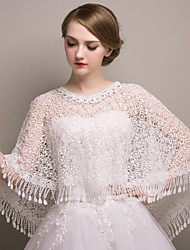 Wedding / Party/Evening Lace Shawls Sleeveless Shawls