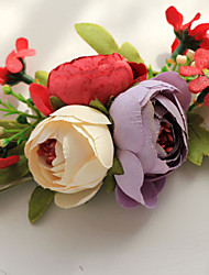 Wedding Flowers Beautiful Round Roses Wrist Corsages