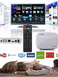 emish cuatro núcleos X700 Android 4.4 cuadro de smart tv wifi XBMC 1080p HD mini PC 8gb