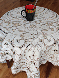 Multi-Purpose  Tablecloth With Size 135x175cm/54x72INCH  More Embroidery And Cutting Flower By Hand
