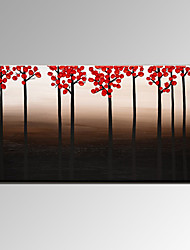 VISUAL STAR®Autumn Forest Handmade Oil Painting Modern Wall Decor Canvas Art Ready to Hang