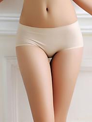 Feminino Calcinhas Estilo Cueca / Sem Costura Feminino Seda Sintética / Modal