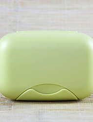 Soap Dish for Travel Storage Toiletries Plastic-Rose Green Blue