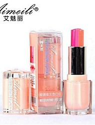 Lipstick Wet Balm Coloured gloss / Moisture / Natural / Breathable / Brightening Multi-color