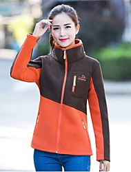 Women Outdoor Sports Collar Fleece Jacket Thickening Jacket Keep Warm  Breathable UV Resistancet Jacke Clothing