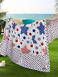 Beautiful Star High-end 100% Cotton Air Conditioning Quilt summer Cool Quilt Full/Queen Size