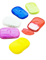 Travel Soap Dish Travel Storage Waterproof / Portable Plastic