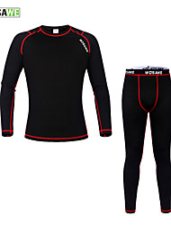 Wosawe Bike/Cycling Base Layers / Compression Clothing / Tights / Jersey / Jersey + Pants/Jersey+Tights / Clothing Sets/Suits UnisexLong