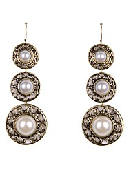 Drop Earrings Pearl Imitation Pearl Alloy Jewelry Wedding Party Daily Casual Sports
