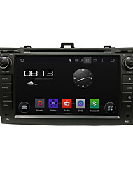 Special Car DVD GPS Player With Android 4.4 Touch Screen 8 Inch Touch Screen 800*480 for Corolla  2006-2011
