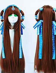 parrucche cosplay di colore marrone migliore qualità di nuovo modo di